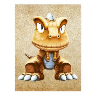 Cartoon Dinosaur Postcards