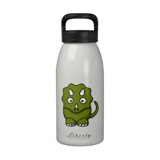 Cartoon Dinosaur Water Bottle