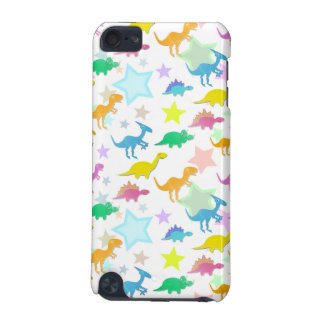 Cartoon Dinosaurs Color Stars iPod Touch Case
