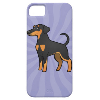 Cartoon Doberman Pinscher (floppy ears) iPhone SE/5/5s Case