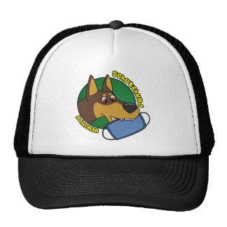 Cartoon Doberman Schutzhund Trucker Hat