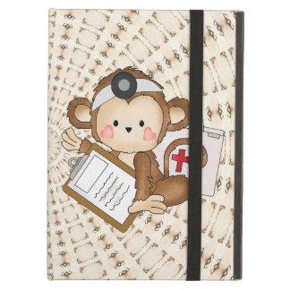 Cartoon Doctor Monkey iPad Air Powis case