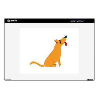 "Cartoon Dog 12"" Laptop Skin"