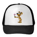 Cartoon Dog and Flower Gift Trucker Hat