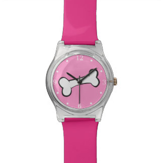Cartoon Dog Bone Watch
