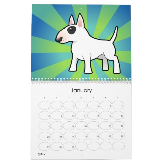 Cartoon Dog Breeds 2011 Calendar