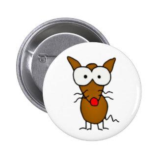 Cartoon Dog Button