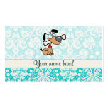 Cartoon Dog; Cute Double-Sided Standard Business Cards (Pack Of 100)