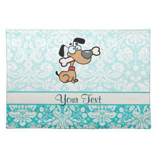 Cartoon Dog; Cute Cloth Placemat