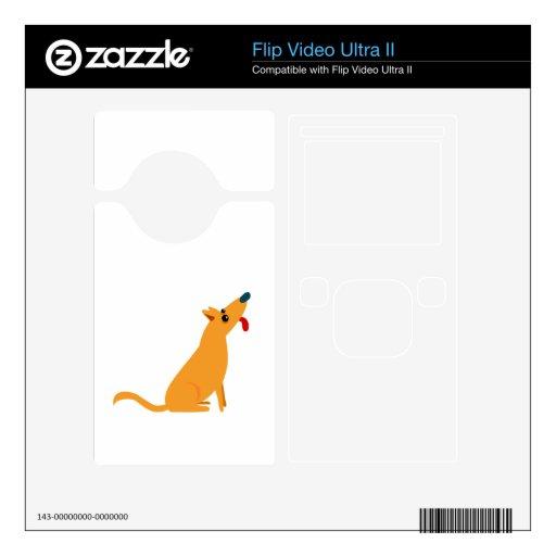 Cartoon Dog Flip Ultra II Decals