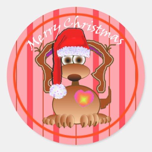 Cartoon Dog Gifts Stickers