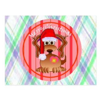 Cartoon Dog Greeting Cards Postcards