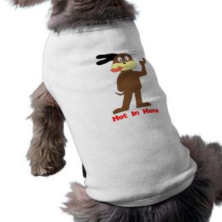 Cartoon Dog Hip Hop Nelly Fan Dog Tee