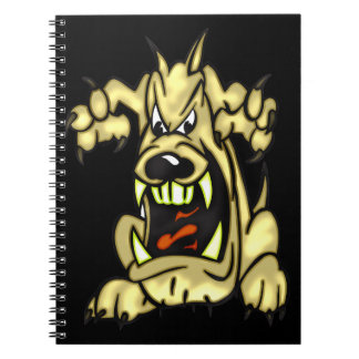 Cartoon Dog Journal Notebook