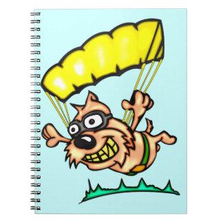 Cartoon Dog Journal Notebook