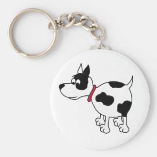 Cartoon Dog Keychain