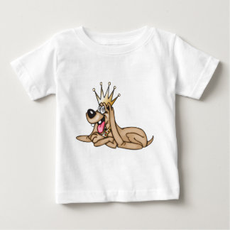 Cartoon Dog King Baby T-Shirt