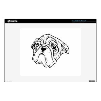 Cartoon Dog Skin For Laptop