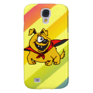 Cartoon Dog Super Hero Galaxy S4 Cover