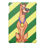 Cartoon Dog With Medal Case For The iPad Mini