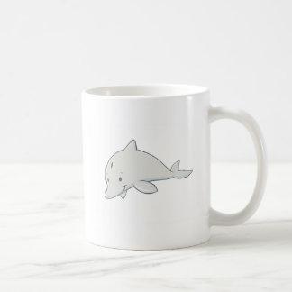 Cartoon Dolphin Coffee Mug