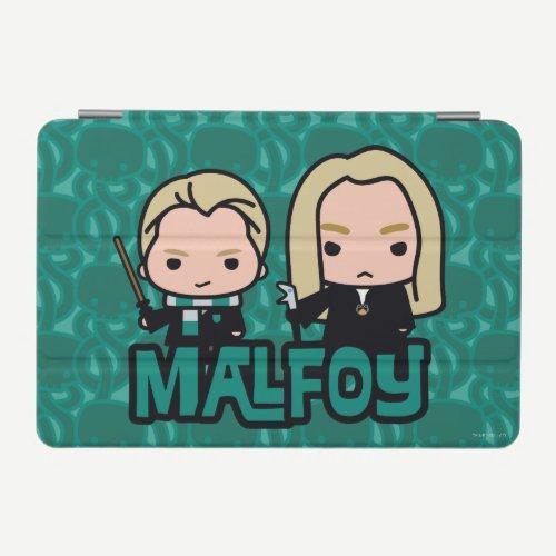 Cartoon Draco and Lucius Malfoy Character Art iPad Mini Cover