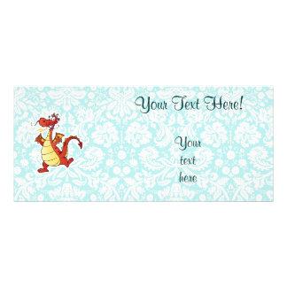 Cartoon Dragon; Cute Rack Card