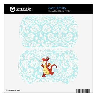 Cartoon Dragon; Cute Skins For Sony PSP Go