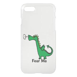 Cartoon Dragon Fear Me iPhone 7 Case