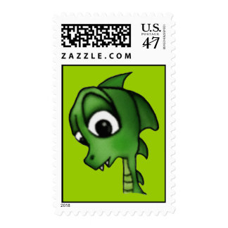 Cartoon Dragon Postage