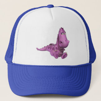 Cartoon Dragons: Smoky Trucker Hat