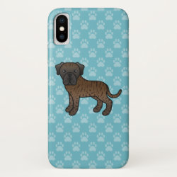 Case-Mate Barely There iPhone X Case with Mastiff Phone Cases design
