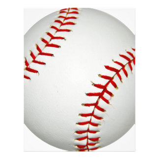 "Cartoon Drawn American Baseball 8.5"" X 11"" Flyer"