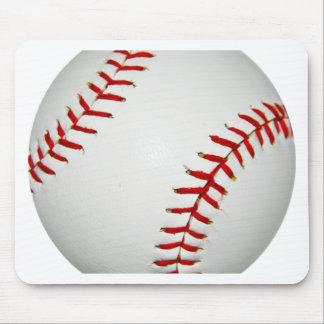 Cartoon Drawn American Baseball Mouse Pad