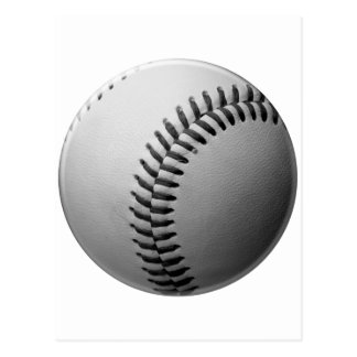 Cartoon Drawn American Baseball Postcard
