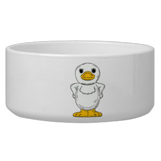 Cartoon Duck Bowl