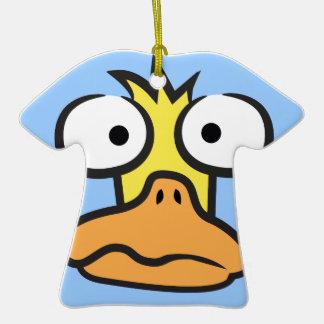 Cartoon Duck Ceramic T-Shirt Decoration