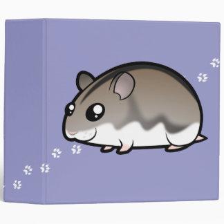 Cartoon Dwarf Hamster Binder