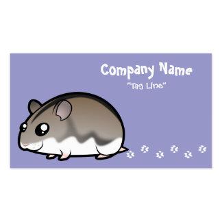 Cartoon Dwarf Hamster Business Card