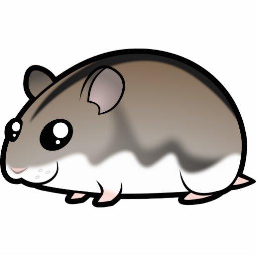 Cartoon Dwarf Hamster Cut Outs Zazzle