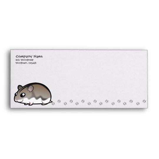 Cartoon Dwarf Hamster Envelope