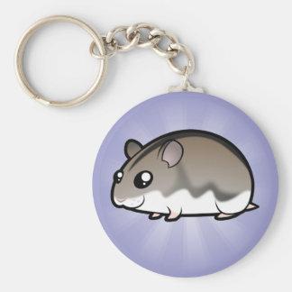 Cartoon Dwarf Hamster Keychain