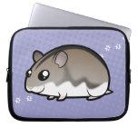 Cartoon Dwarf Hamster Laptop Computer Sleeve