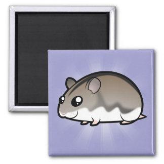 Cartoon Dwarf Hamster Fridge Magnet