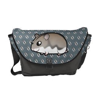 Cartoon Dwarf Hamster Courier Bag