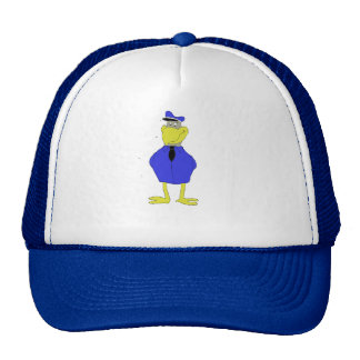 Cartoon Eagle Airplane Pilot Trucker Hat