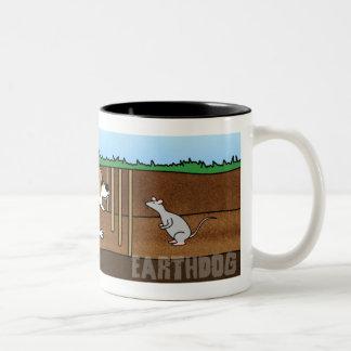 Cartoon Earthdog Mug