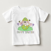 Cartoon Easter Bunny Holiday baby t-shirt