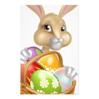 Cartoon Easter Bunny Rabbit Stationery