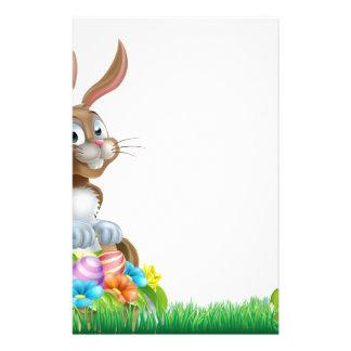 Cartoon Easter Egg Basket Hunt Bunny Stationery
